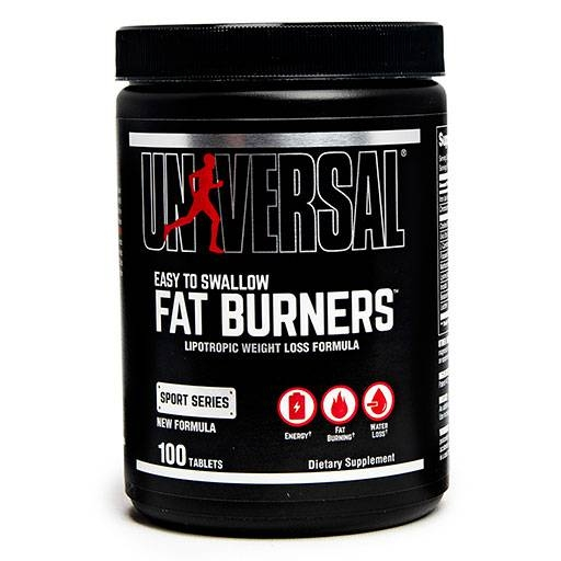 Easy To Swallow Fat Burners By Universal Nutrition, 100 Tabs