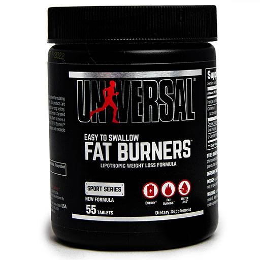 Easy To Swallow Fat Burners By Universal Nutrition, 55 Tabs