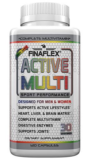 Active Multi By FinaFlex, 120 Caps