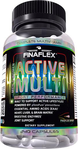 Active Multi By Finaflex, 240 Caps