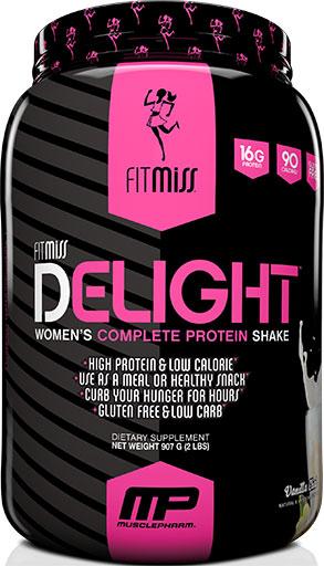 FitMiss Delight Protein, Vanilla Chai, 2lb
