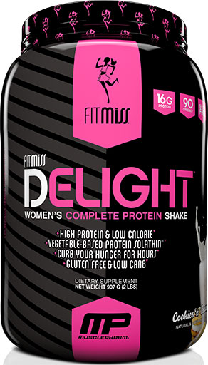 FitMiss Delight, Cookies and Cream, 2lb
