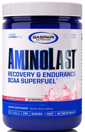 AminoLast, By Gaspari Nutrition, Watermelon Blast, 30 Servings,