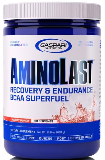 AminoLast, By Gaspari Nutrition, Fruit Punch, 30 Servings,