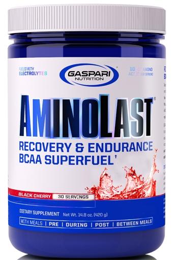 AminoLast By Gaspari Nutrition, Black Cherry, 30 Servings