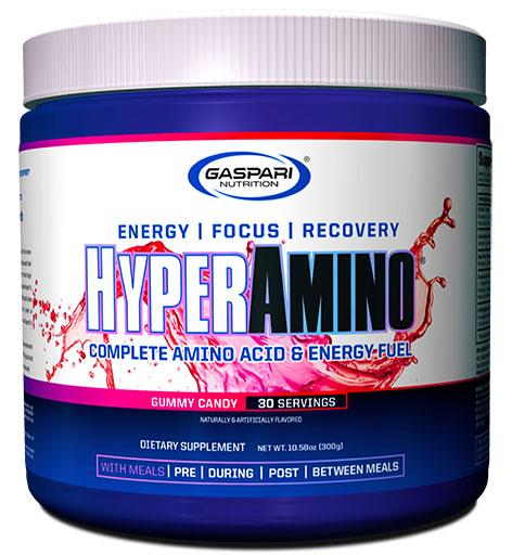 HyperAmino By Gaspari Nutrition, Gummy Candy, 30 Servings