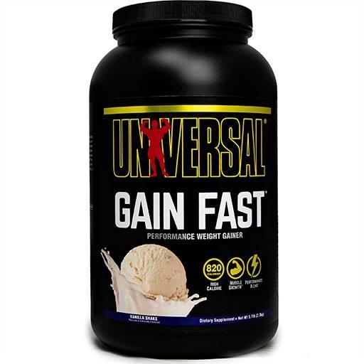 Gain Fast 3100 By Universal Nutrition, Vanilla 5.1lb