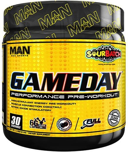 GAME DAY PRE WORKOUT - SOUR BATCH