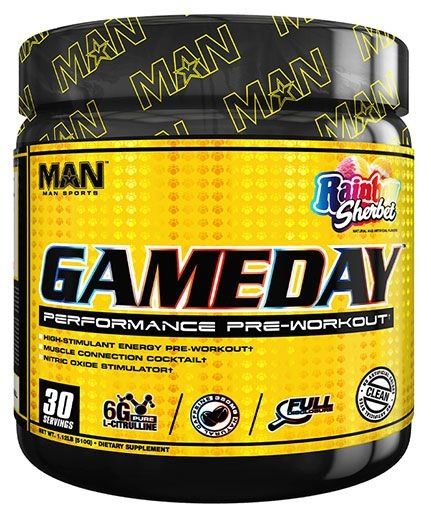 GAME DAY PRE WORKOUT - RAINBOW SHERBET