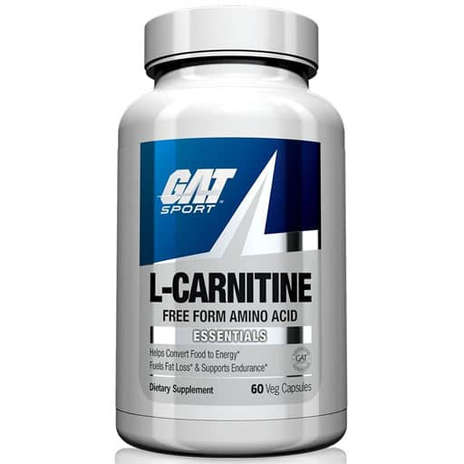 GAT L-Carnitine, Essentials Series, 60 Veg Caps