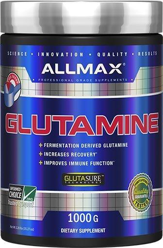 Glutamine Powder By Allmax Nutrition, 1000 Grams