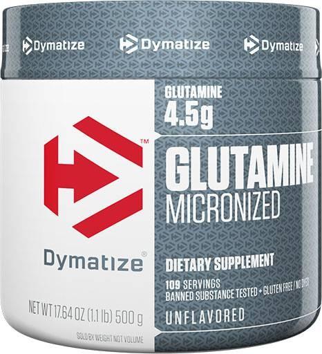 Glutamine Powder By Dymatize Nutrition, 500 Grams