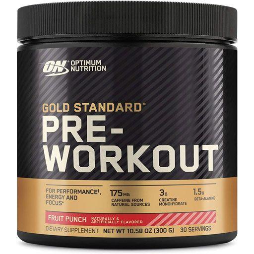 Gold Standard Pre Workout - Fruit Punch - 30 Servings