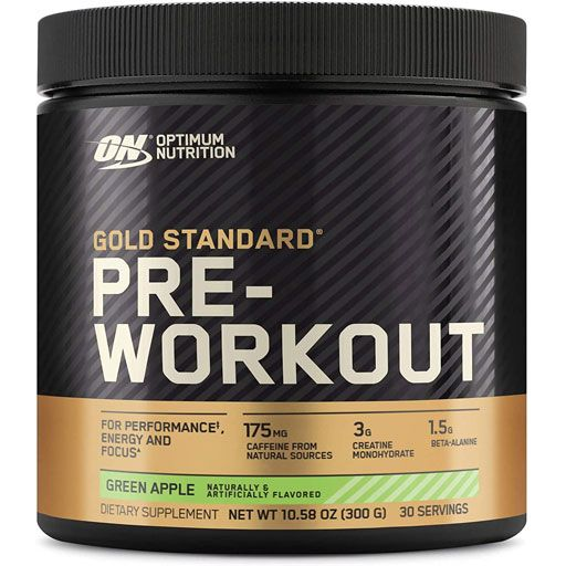 Gold Standard Pre Workout - Green Apple - 30 Servings