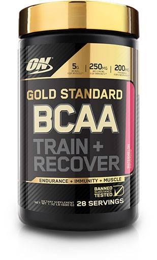 Gold Standard BCAA Train + Recovery By Optimum Nutrition, Watermelon, 28 Servings