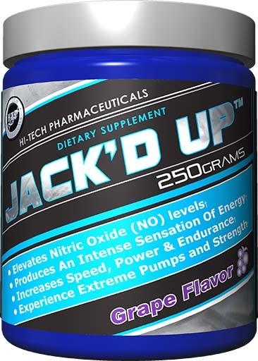 Jack'd Up, By Hi-Tech Pharmaceuticals, Grape, 250 Grams