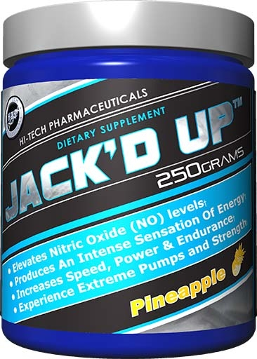 Jack'd Up, By Hi-Tech Pharmaceuticals, Pineapple, 250 Grams