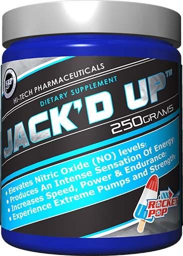 Jack'd Up, By Hi-Tech Pharmaceuticals, Rocket Pop, 250 Grams