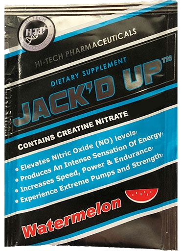 Jack'd Up By Hi-Tech Pharmaceuticals, Watermelon, Sample Packet
