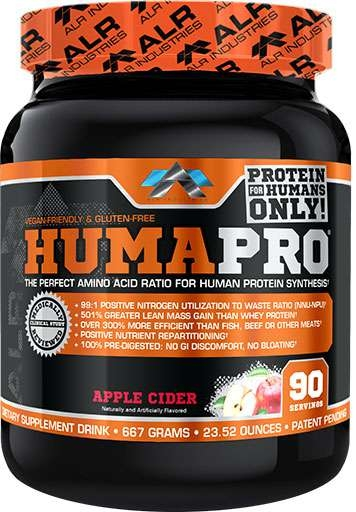 HumaPro, By ALRI, Apple Cider, 90 Servings,