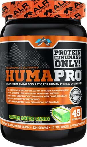 HumaPro By ALRI, Green Candy Apple, 45 Servings