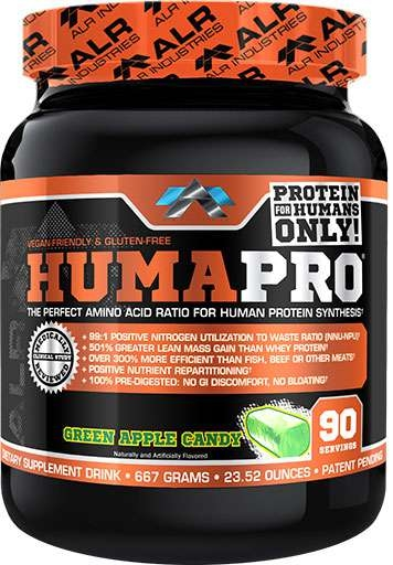 HumaPro By ALRI, Green Candy Apple, 90 Servings