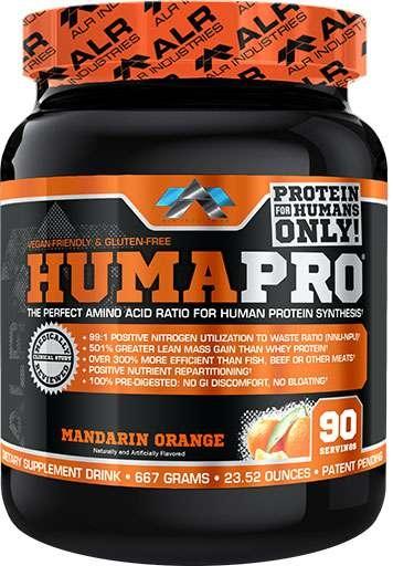 HumaPro, By ALRI, Mandarin Orange, 90 Servings,