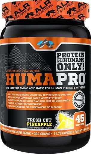 HumaPro By ALRI, Fresh Cut Pineapple, 45 Servings