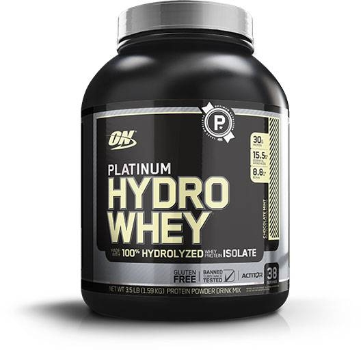 Hydro Whey Protein By Optimum Nutrition, Chocolate Mint 3.5LB