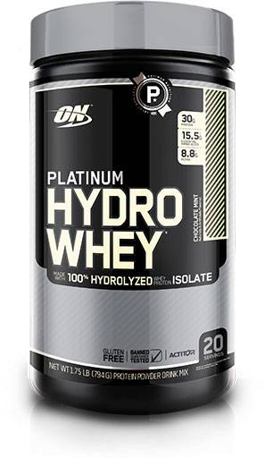 Hydro Whey Protein By Optimum Nutrition, Chocolate Mint 1.75LB