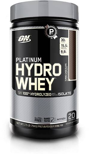 Hydro Whey Protein By Optimum Nutrition, Turbo Chocolate 1.75lb