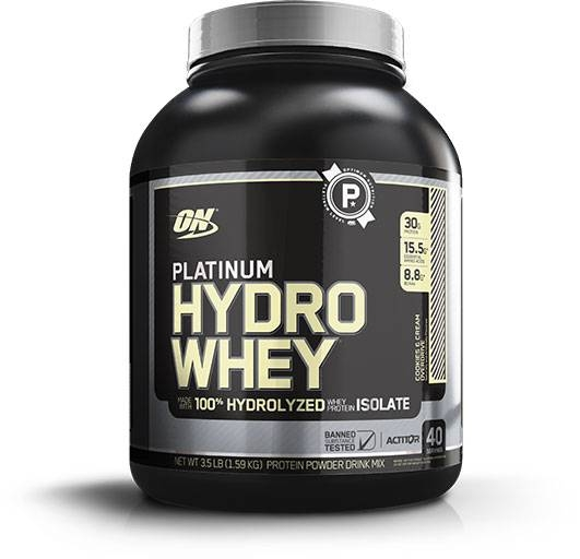 Hydro Whey Protein By Optimum Nutrition, Cookies & Cream 3.5lb