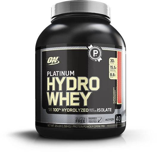 Hydro Whey Protein By Optimum Nutrition, Strawberry 3.5lb
