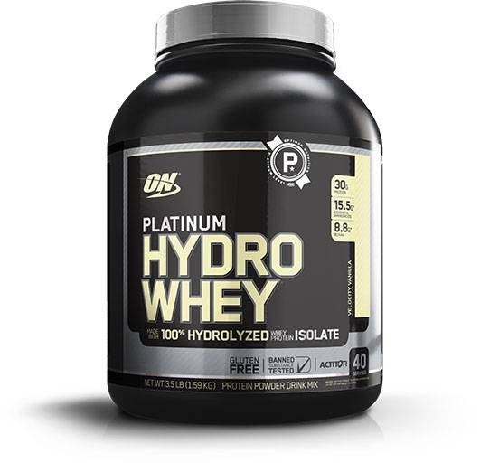 Hydro Whey Protein By Optimum Nutrition, Velocity Vanilla 3.5lb