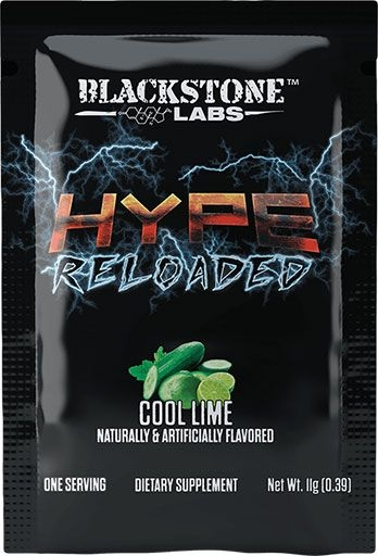 Hype Reloaded By Blackstone Labs, Cool Lime, Sample Packet