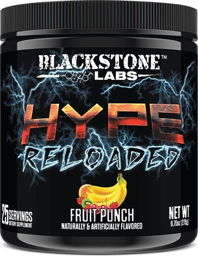 Hype Reloaded By Blackstone Labs, Fruit Punch, 25 Servings