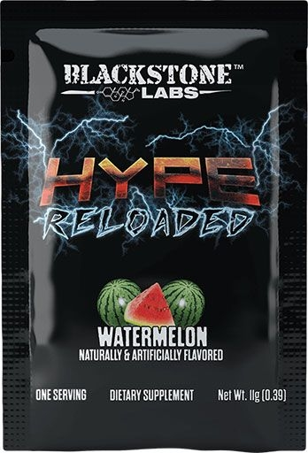 Hype Reloaded By Blackstone Labs, Watermelon, Sample Packet
