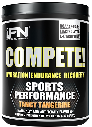 Compete By iForce Nutrition, Tangy Tangerine, 50 Servings