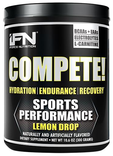 Compete By iForce Nutrition, Lemon Drop, 50 Servings