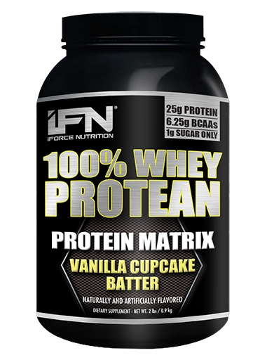 Protean By iForce Nutrition, Vanilla Cupcake Batter, 2lb