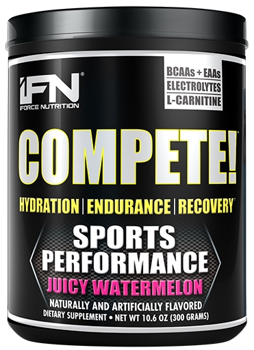 Compete By iForce Nutrition, Juicy Watermelon, 50 Servings