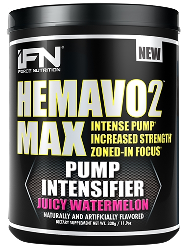 HemaVo2 Max, By iForce Nutrition, Juicy Watermelon, 25 Servings, Nitric Oxide