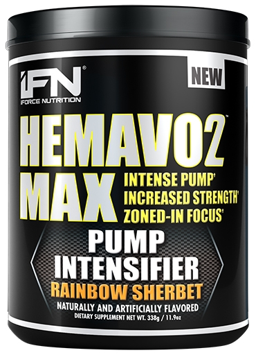HemaVo2 Max, By iForce Nutrition, Rainbow Sherbert, 25 Servings, Nitric Oxide