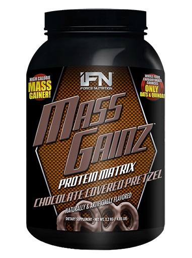 Mass GainZ By iForce Nutrition, Chocolate Pretzel, 4.85lb