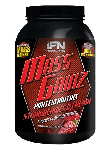 Mass GainZ By iForce Nutrition, Strawberry Creamsicle, 4.85lb