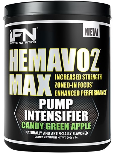 HemaVo2 Max, By iForce Nutrition, Candy Green Apple, 25 Servings, Nitric Oxide