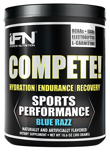 Compete By iForce Nutrition, Blue Razz, 50 Servings