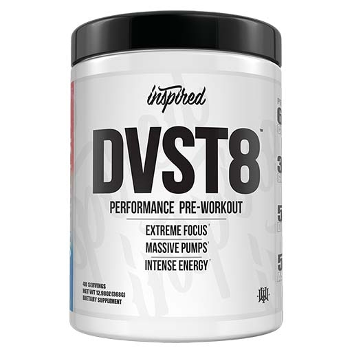DVST8 White Cut By Inspired Nutraceuticals, Galaxy Pop, 40 Servings