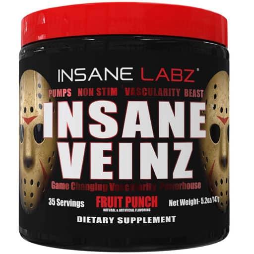 Insane Veinz - Fruit Punch - 35 Servings