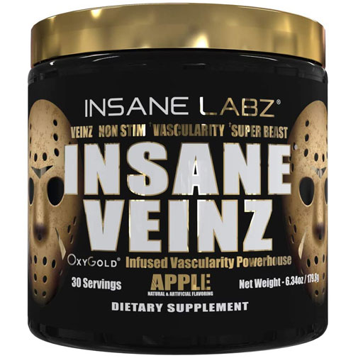 Insane Veinz Gold - Apple - 30 Servings